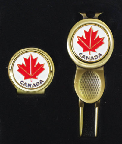 Canada Divot Tool and Hat Clip Set