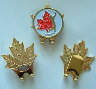Maple Leaf Hat Clip