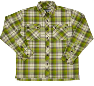 Mythical Lumberjack Shirt - Green Plaid