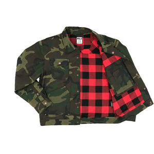 Quimby Waxed Jacket - Camo