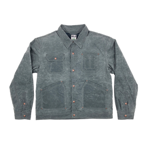 Quimby Waxed Jacket - Cement