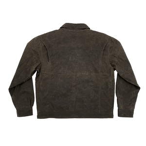 Quimby Waxed Jacket - Chocolate