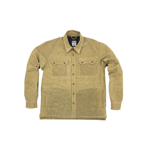 Legendary Forest Ape Waxed Shacket- Oxford Tan