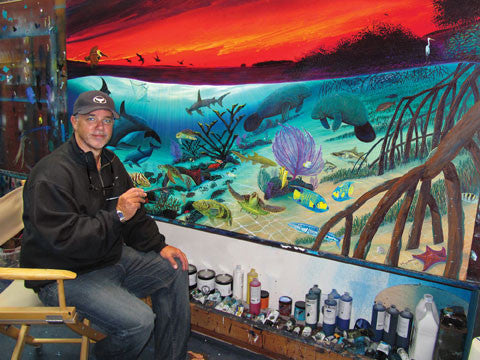 Wyland's Custom Curated Eco-Artist Experience