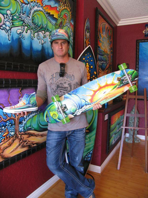 Drew Brophy's art appeals to folks of all ages