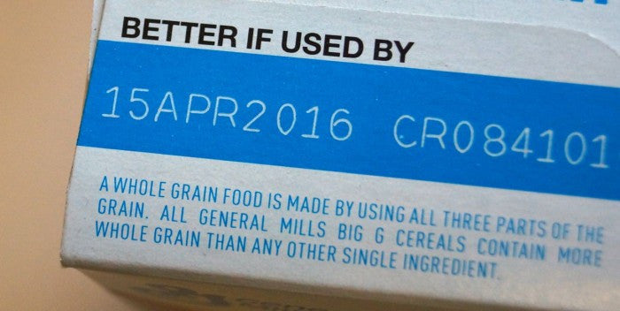 Eco-fact Friday: Food expiration labels can be misleading