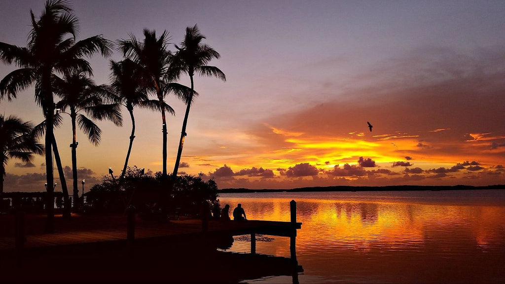 Gorgeous Islamorada Florida Keys sunset