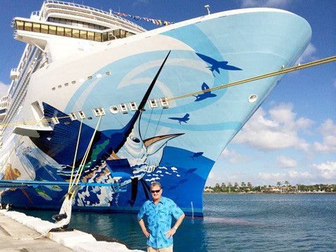 Guy Harvey partners with Norwegian Cruise Line