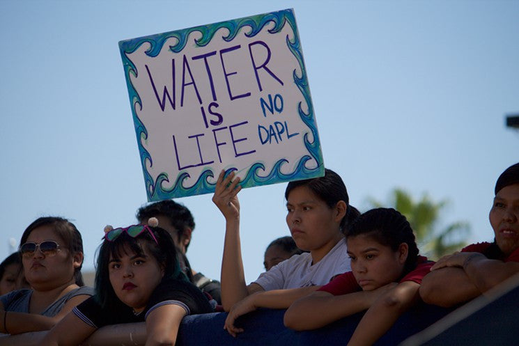 """Water is Life:"" the Dakota Access Pipeline threatens water source"