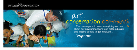 The Wyland Foundation is dedicated to inspiring and educating in order to help save the world's oceans