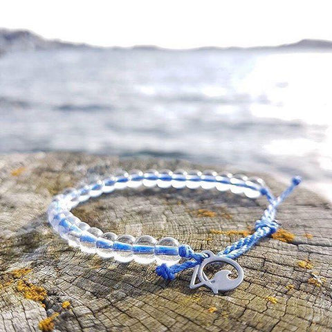 4ocean's beautiful bracelet are made from recycled materials!