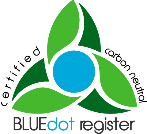 Blue Dot Register Certified Carbon Neutral Company