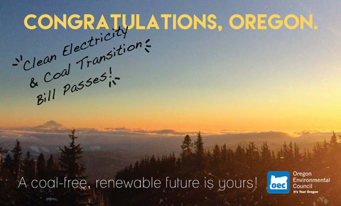Oregon passes clean energy bill
