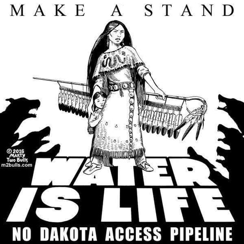 Dakota Access Pipeline Protest Poster