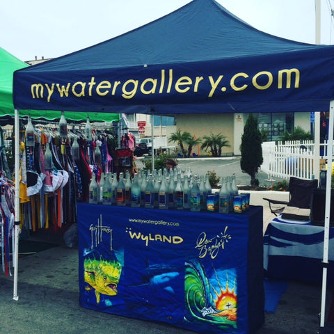 Water Gallery's festival display