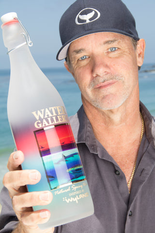 Wyland, Water gallery reusable glass water bottles