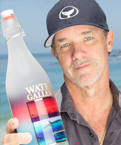 Imagine owning a Gallery Drinkware bottle signed by Wyland himself!