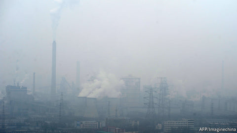 Chinese air pollution is terrifying and disastrous for China's citizens