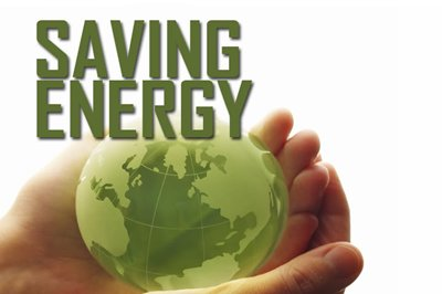 Conserve energy in whatever way possible!