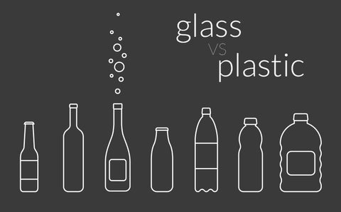 Glass versus plastic: choose glass!