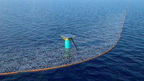 The Ocean Cleanup Barrier