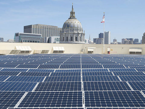 Solar panel mandate in San Francisco goes into effect in 2017
