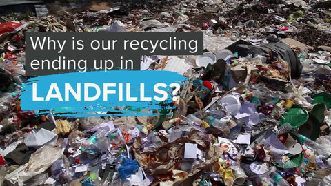 Much of what you think is recycled actually ends up in the landfill
