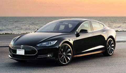 Tesla Model S zero emissions vehicle