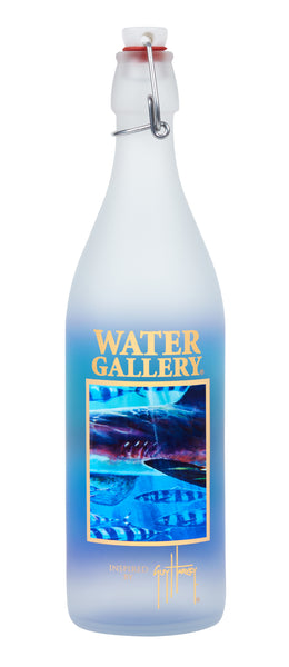 Guy Harvey water bottle with shark image