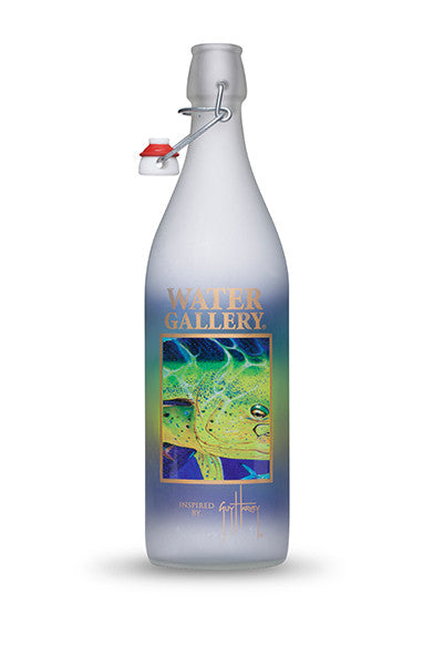 Water Gallery, Guy Harvey, Guy Harvey Water Bottle, Guy Harvey Golden Prize, Water Gallery, Glass Water Bottle, Reusable Water Bottle, cool water bottle