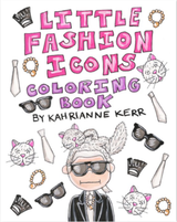 KAHRI - Little Icons Coloring Book