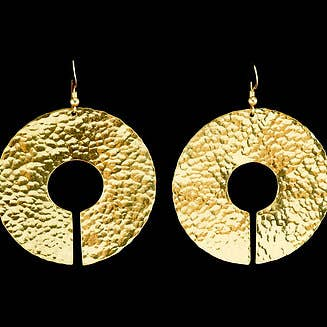 Modern Artifacts - Sun Disk Earrings