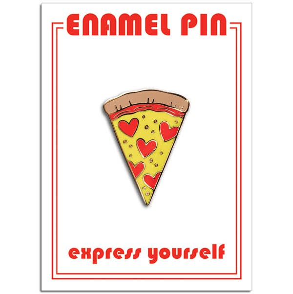 The Found - Pizza Slice Pin