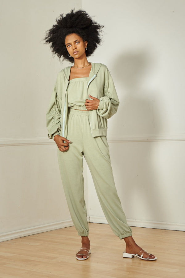 Sage the label Luxe Loungewear Jacket