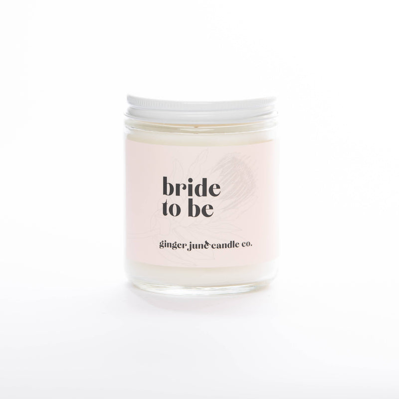Ginger June Candle Co. - BRIDE TO BE • NON TOXIC SOY CANDLE