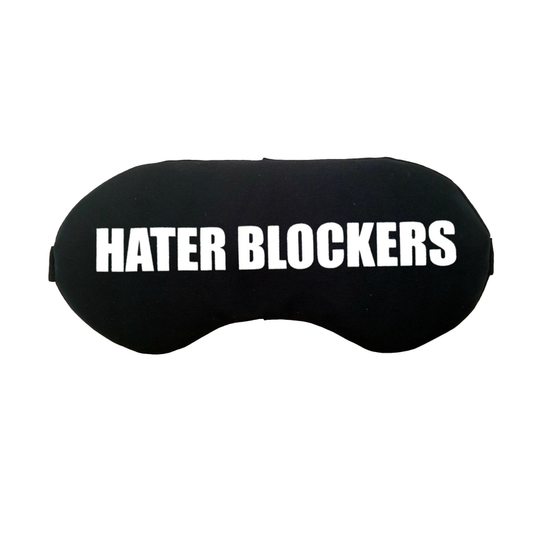 The Sleepy Cottage - Hater Blockers Satin Sleep Mask