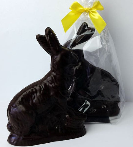 Large Rabbit Dark Chocolate
