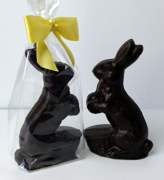 Rabbit With Flower Dark Chocolate