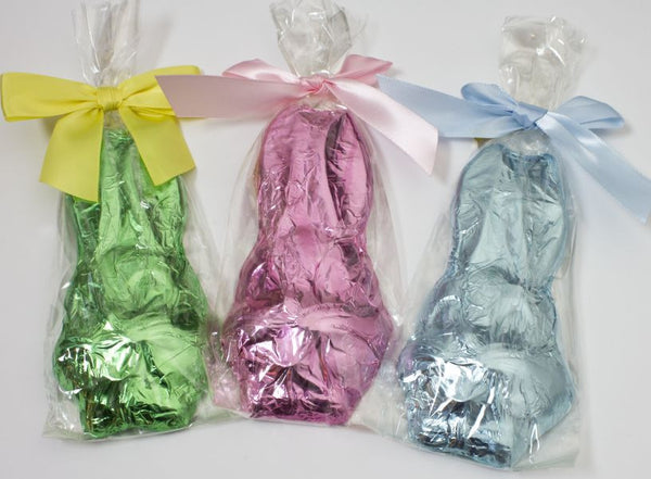 Foil Wrapped Rabbit Face