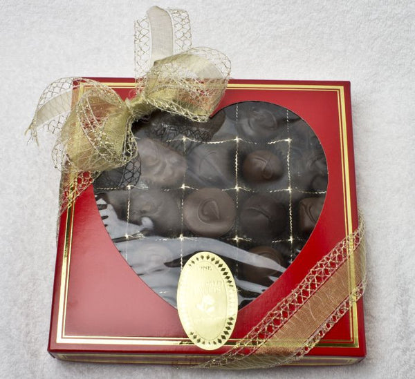 Window Heart Box 16 oz Assortment