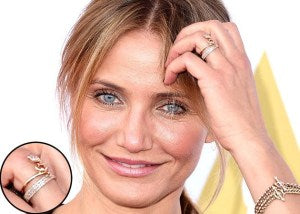 Cameron Diaz's Engagement Ring