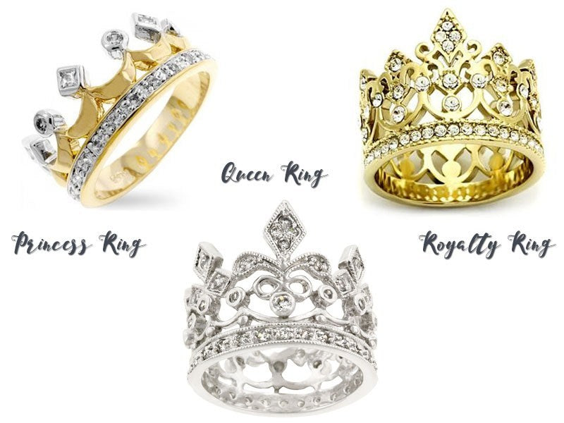 Crown rings from Eternal Sparkles