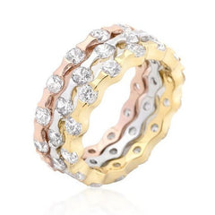 18k Gold Plated Eternity Rings from Eternal Sparkles