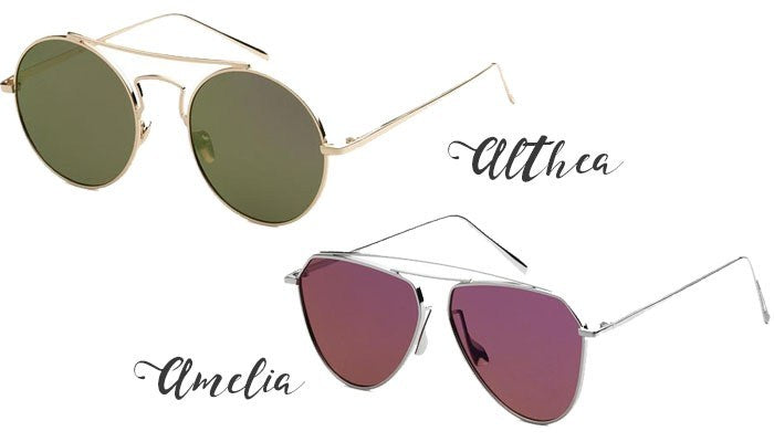 Eternal Sparkles Althea and Amelia Sunglasses