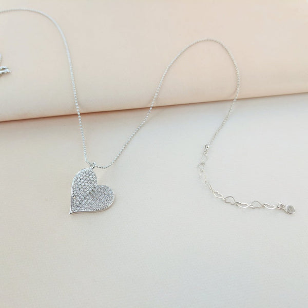 Beautiful Butterfly Heart Necklace