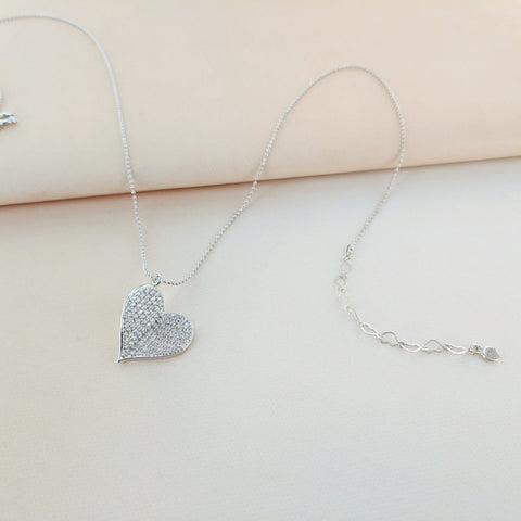 Beautiful Butterfly Heart Necklace from Eternal Sparkles