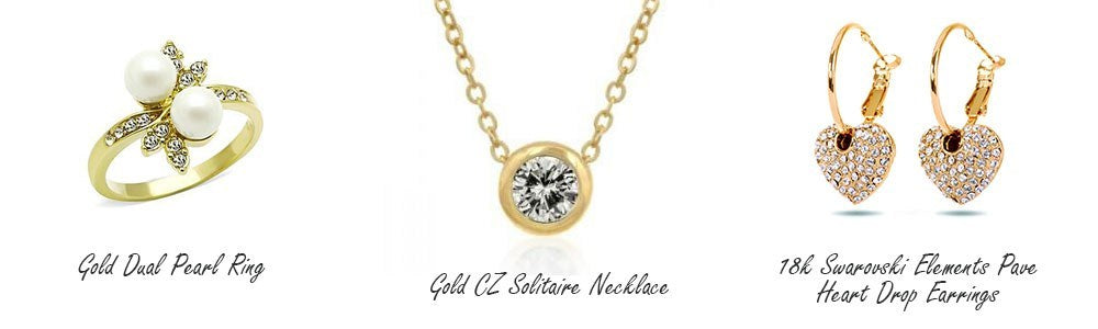 Eternal Sparkles gold-plated fashion jewelry