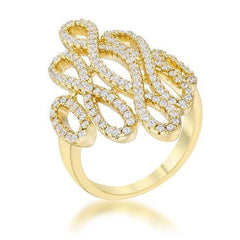 Gold Infinity Ring from Eternal Sparkles