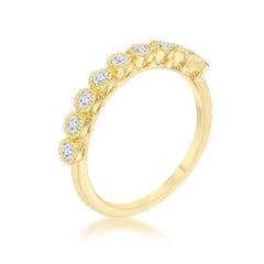 Gold Novem Ring from Eternal Sparkles