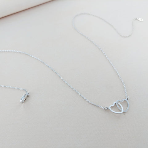 Heart to Heart Pendant Necklace from Eternal Sparkles